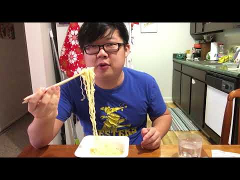 Let's Eat 3 Types of Instant Ramen (Spicy Curry Buldak, Meaty Udon, and Ore no Shio Yakisoba)