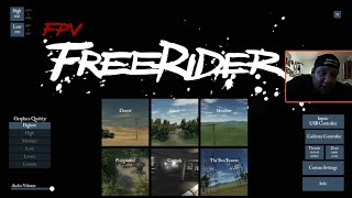 Free Rider FPV Simulator For Android, Best Mobile FPV Trainer On The Market