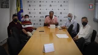 Reunião com o Prefeito de Pouso Alegre: O Desespero dos Hospitais