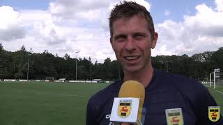 Robert Mühren na afloop van FC Groningen - SC Cambuur (2-2)