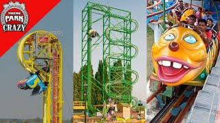Top 10 STRANGEST Roller Coasters