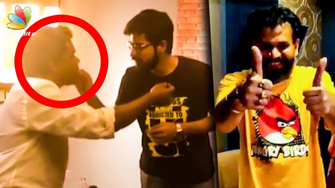 Yuvan Celebrates Birthday With Pyaar Prema Kadhal Team | Harish Kalyan, Premji