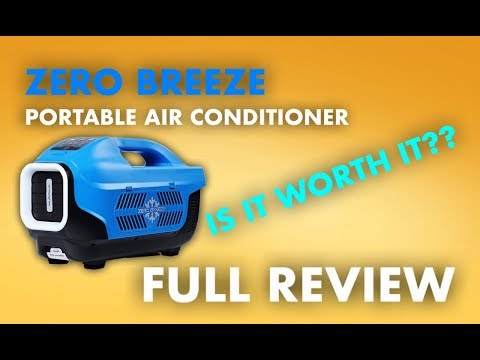 REVIEW: Zero Breeze Portable Air Conditioner [FULL REVIEW] [REAL AC]