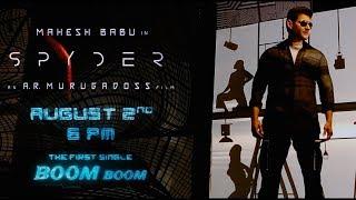 Spyder : Boom Boom Song Teaser
