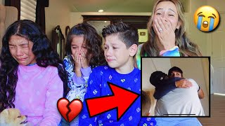 REACTING TO OUR FIRST EVER YOUTUBE VIDEO!!! **BAD IDEA** 💔    Familia Diamond