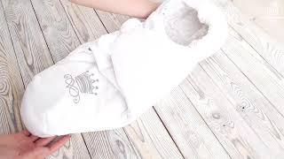 """Комплект для новорожденного на выписку из роддома """"Империя"""", 8 предметов"""
