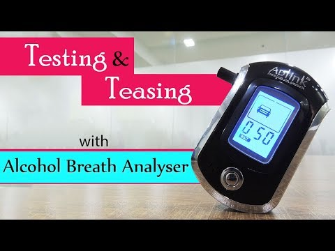 Alcohol Breath Detector