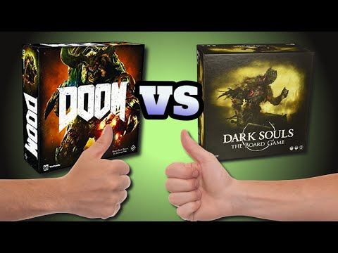 Doom vs Dark Souls - Comparison review