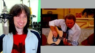 British guitarist reacts to the day that Roy Clark WON at playing the guitar!