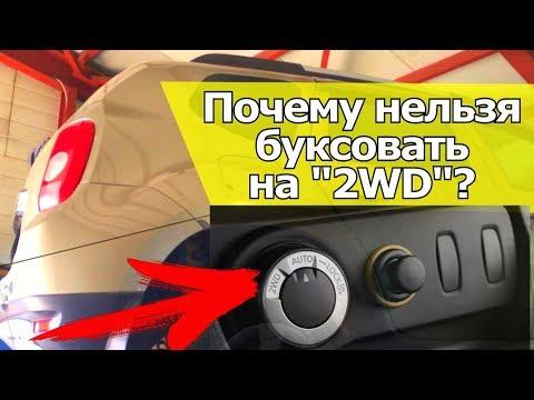 Как не убить муфту полного привода? Почему нельзя буксовать на 2WD?