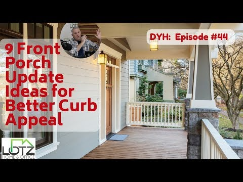 9 Front Porch Update Ideas for Better Curb Appeal