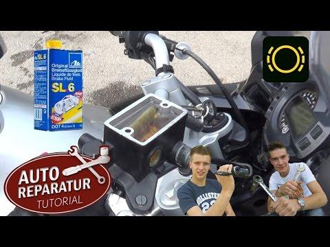 Bremsflüssigkeit wechseln Motorrad | Bremse entlüften DOT | DIY Tutorial