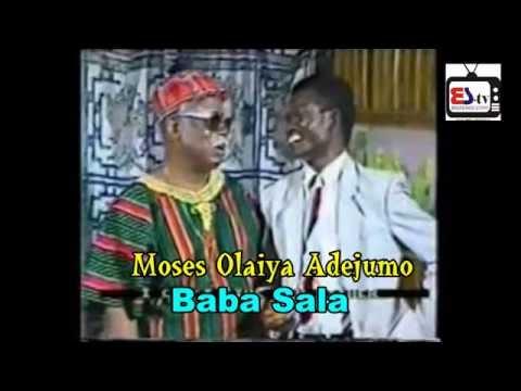BAckstageStoryTV  visits Moses Olaiya Adejumo (BABA SALA) in Ilesha... He wants more government care