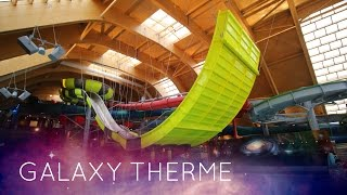 Therme Bucuresti | GALAXY (All Water Slides) Onride! NEW 2016