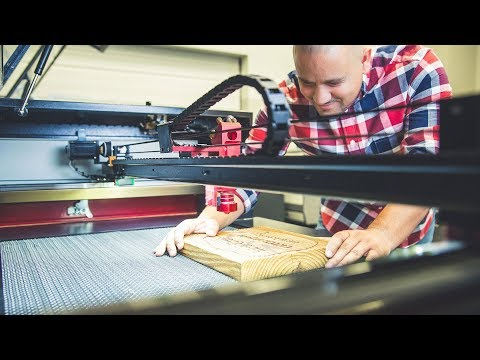 Affordable CO2 Hobby Laser Cutter - 65 Watts - Boss Laser