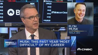 Someone needs to help Elon Musk because he can't do all this alone, says NYT's Jim Stewart