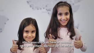 Air Canada: Un nouveau menu approuvé par des enfants