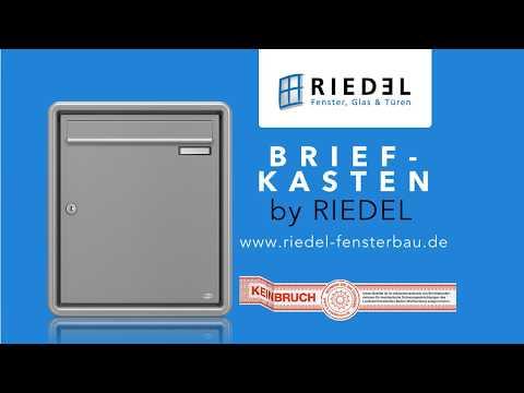 BRIEFKASTEN by RIEDEL Fensterbau