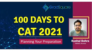 FREE CAT Online Classes   100 Days to CAT 2021   How to Prepare for CAT 2021?