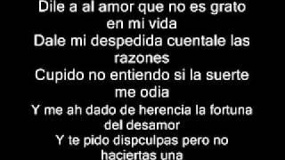 Aventura  Dile Al Amor lyrics