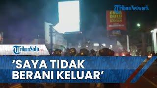 Kesaksian Warga saat Polisi Adang Suporter PSS Sleman Masuk Kota Solo, Kocar-kacir Ditembak Gas