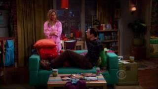 Sheldon dort chez Penny