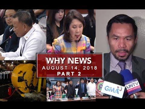 [UNTV]  UNTV: Why News (August 14, 2018) PART 2