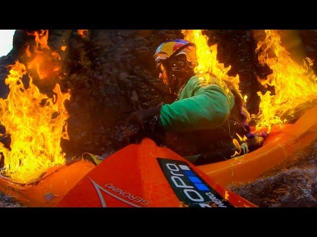 GoPro: The Kayak Fire Fall with Rafa Ortiz