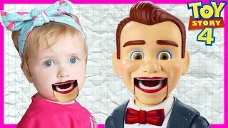 Toy Story 4 Benson Dummy Turned My Baby Sister Into A Dummy! | Hide and Seek