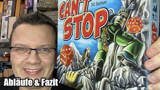 Can't stop (Franjos) - ja, den Klassiker gibt es weiterhin!