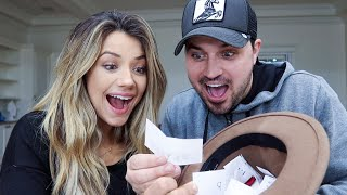 PICKING OUR BABY NAME OUT OF A HAT!