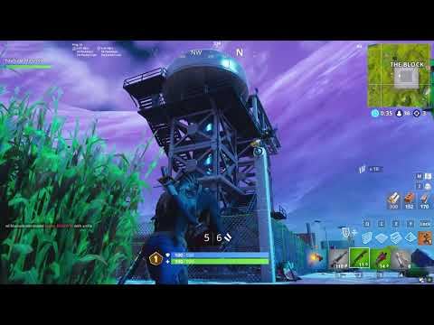 FORTNITE *NEW* GRIMMY GREANS LOCATION GAMEPLAY
