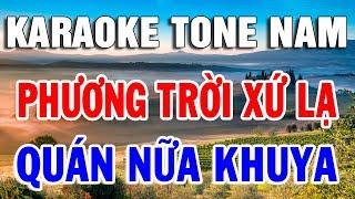 karaoke-nhac-vang-dan-ca-bolero-de-hat-nhat-2020-lien-khuc-phuong-troi-xu-la-quan-nua-khuya
