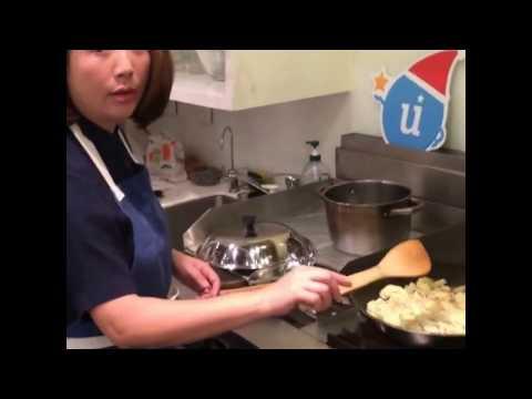 , title : '藍偉華老師~百里香花椰菜馬鈴薯濃湯示範