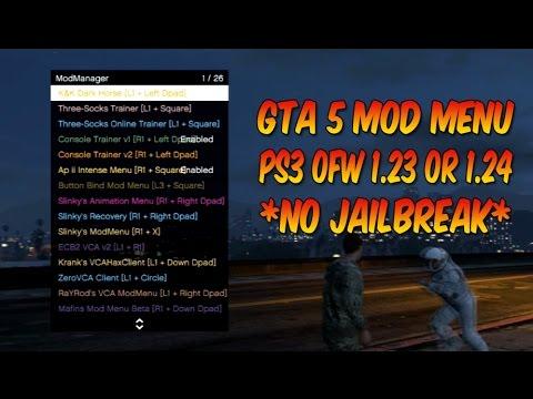 STILL WORKING JULY 2018*[PS3/1 26/1 27] *NO JAILBREAK* GTA 5 Mod