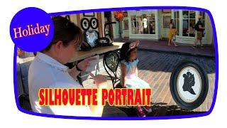 Silhouette Portrait | Disney Magic Kingdom - Florida (USA)