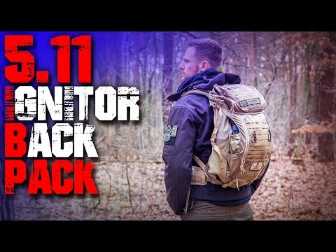 5.11 Ignitor Backpack Rucksack – Review Test – Outdoor Survival Trekking Bushcraft