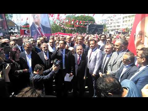 Kılıçdaroğlu'na saldırıya  Antalya'da protesto