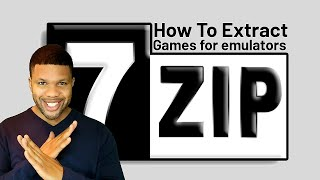 How to extract your games for emulators using 7-zip