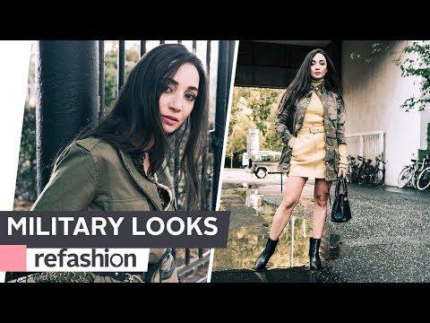 HOW TO STYLE: Fashiontrend Military ~ refashion | OTTO