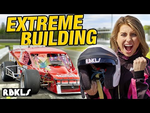 LEGO Race Car EXTREME Building Challenge! - REBRICKULOUS