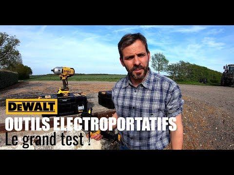 OUTILLAGE DEWALT | Je teste l'électroportatif pour vous !