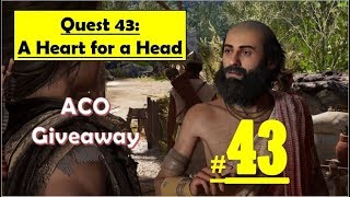 Assassins Creed Odyssey - A Heart for a Head - Find and bring sacred bull - Collect Bulls heart