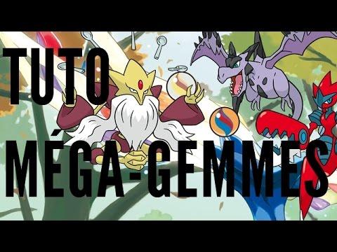 comment trouver les mega gemme dans pokemon x et y