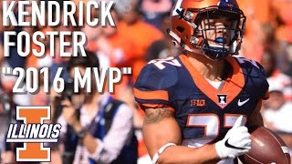 Kendrick Foster || Official Illinois Highlights