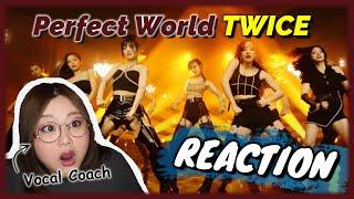 ぶちかまされる女王感!TWICE 'Perfect World' MV【歌声分析】【リアクション】