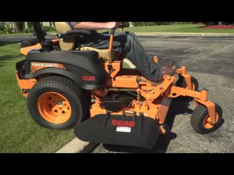 2018 SCAG Power Equipment Tiger Cat II 52 in. 22hp in Marietta, Georgia