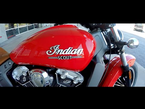 2016 Indian Scout | First Time Riding | Fast Cruiser