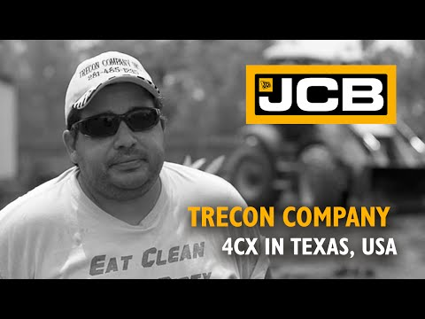 JCB at work for Trecon Company - USA