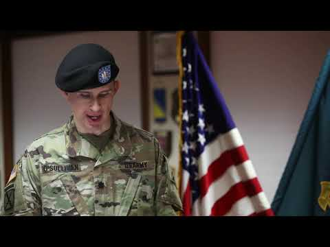 Церемония сдачи дел и должности одним и прием командования другим, силы специального назначения, США
